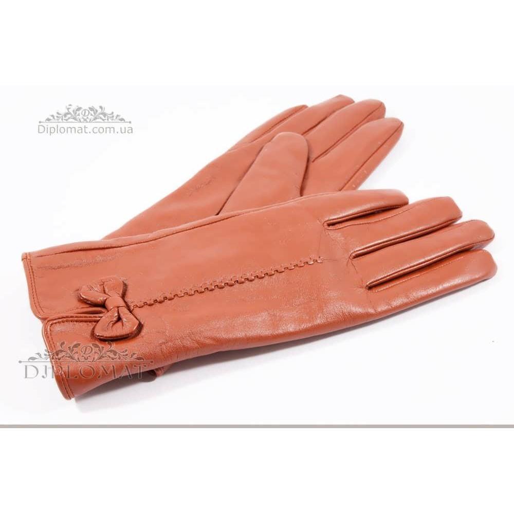 Перчатки женские HARMON 2097C ПП КоричневыйSMOOTH SKIN size 7