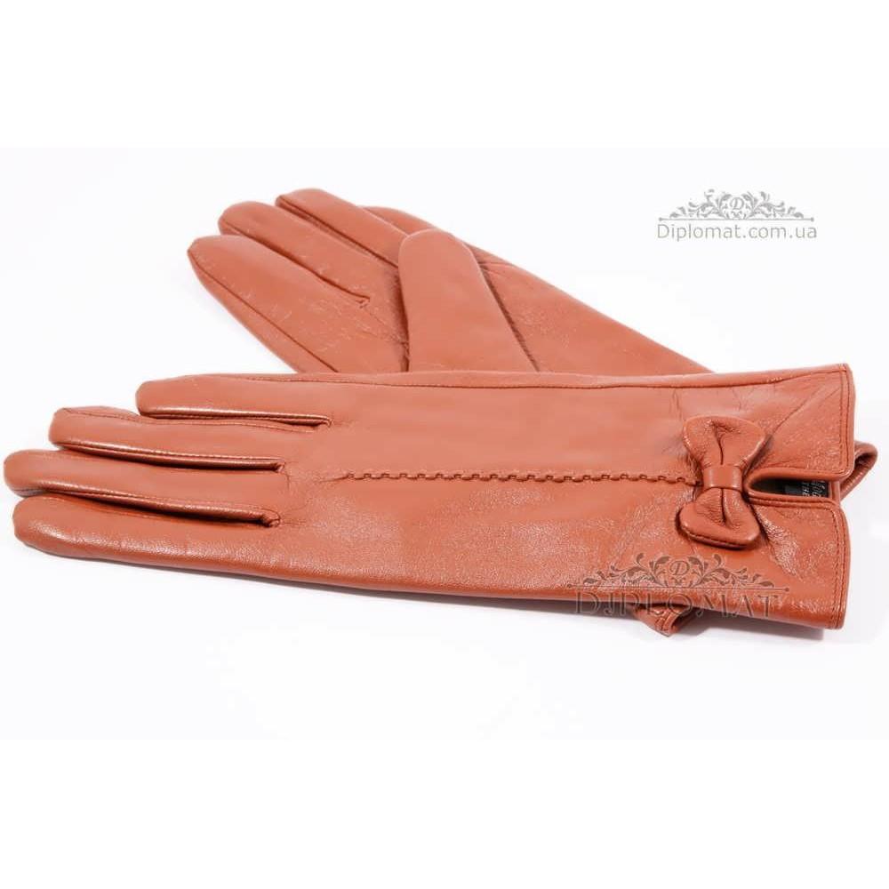 Перчатки женские HARMON 2097C ПП КоричневыйSMOOTH SKIN size 7,5
