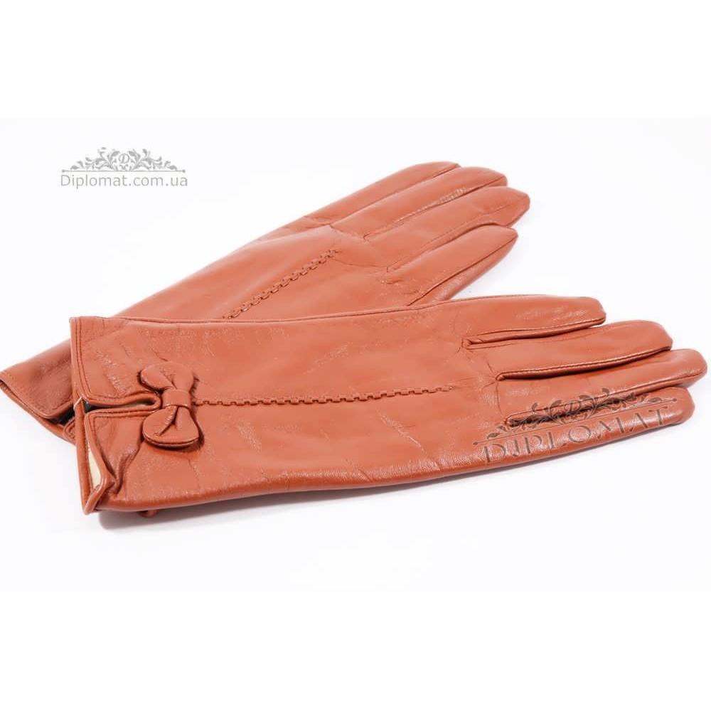 Перчатки женские HARMON 2097C ПП КоричневыйSMOOTH SKIN size 8
