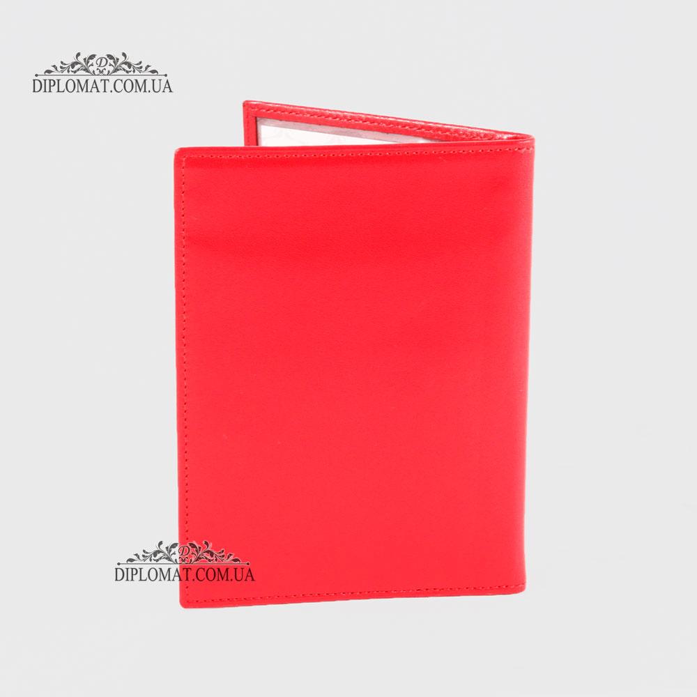 Обложка для автодокуменов TERGAN 1482 RED KIRMIZI