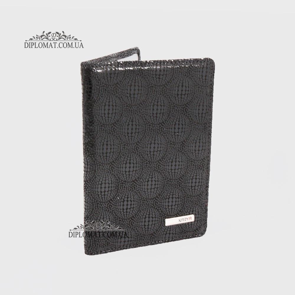 Обложка для паспорта KARYA 092 Lazer Black