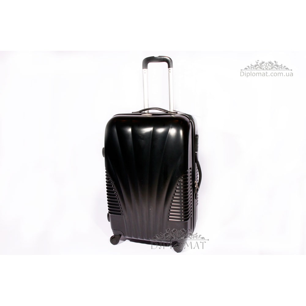 Чемодан дорожный KARYA Suitcase BIG PLASTIC BLACK