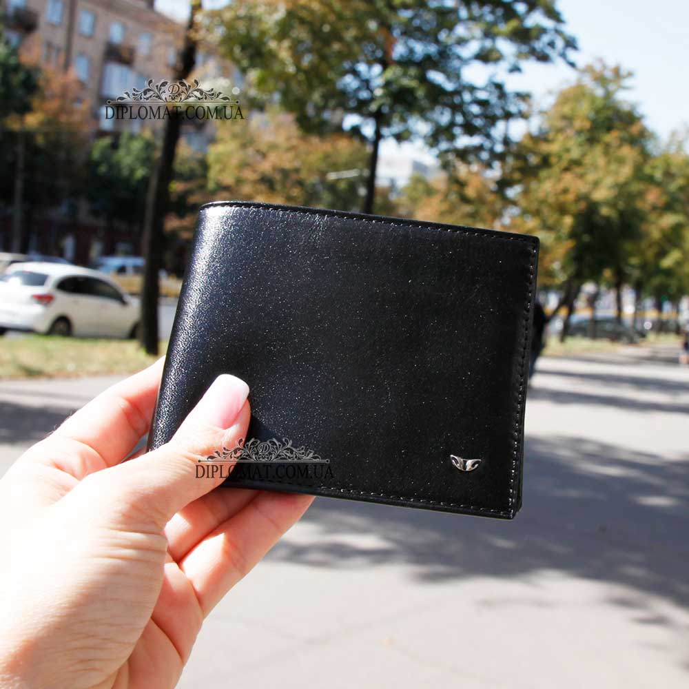 Портмоне мужское Кожаное небольшого размера TERGAN 1211   SIYAH RUSTIC Черный