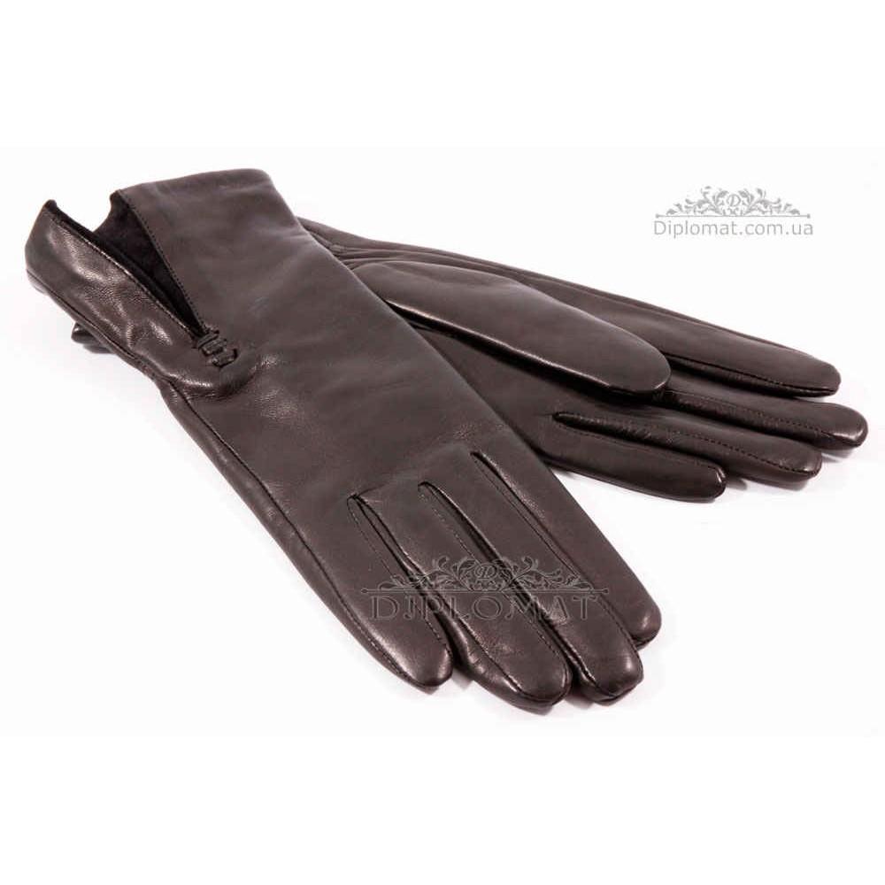Перчатки женские HARMON 601 ПП ЧерныйSMOOTH SKIN size 6,5