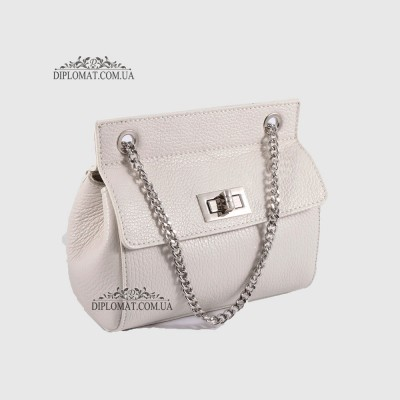 Сумка кросс боди EMANUELA FERRETTI 85307 Silver WHITE floater