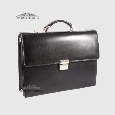 Портфель KARYA 0262 1 Черный Гладкий
