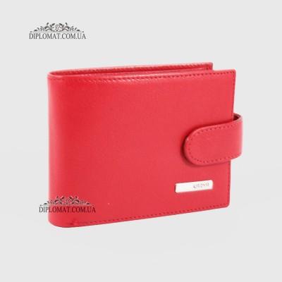 Визитница кожаная для дисконтных карт KARYA 054 46 Красный