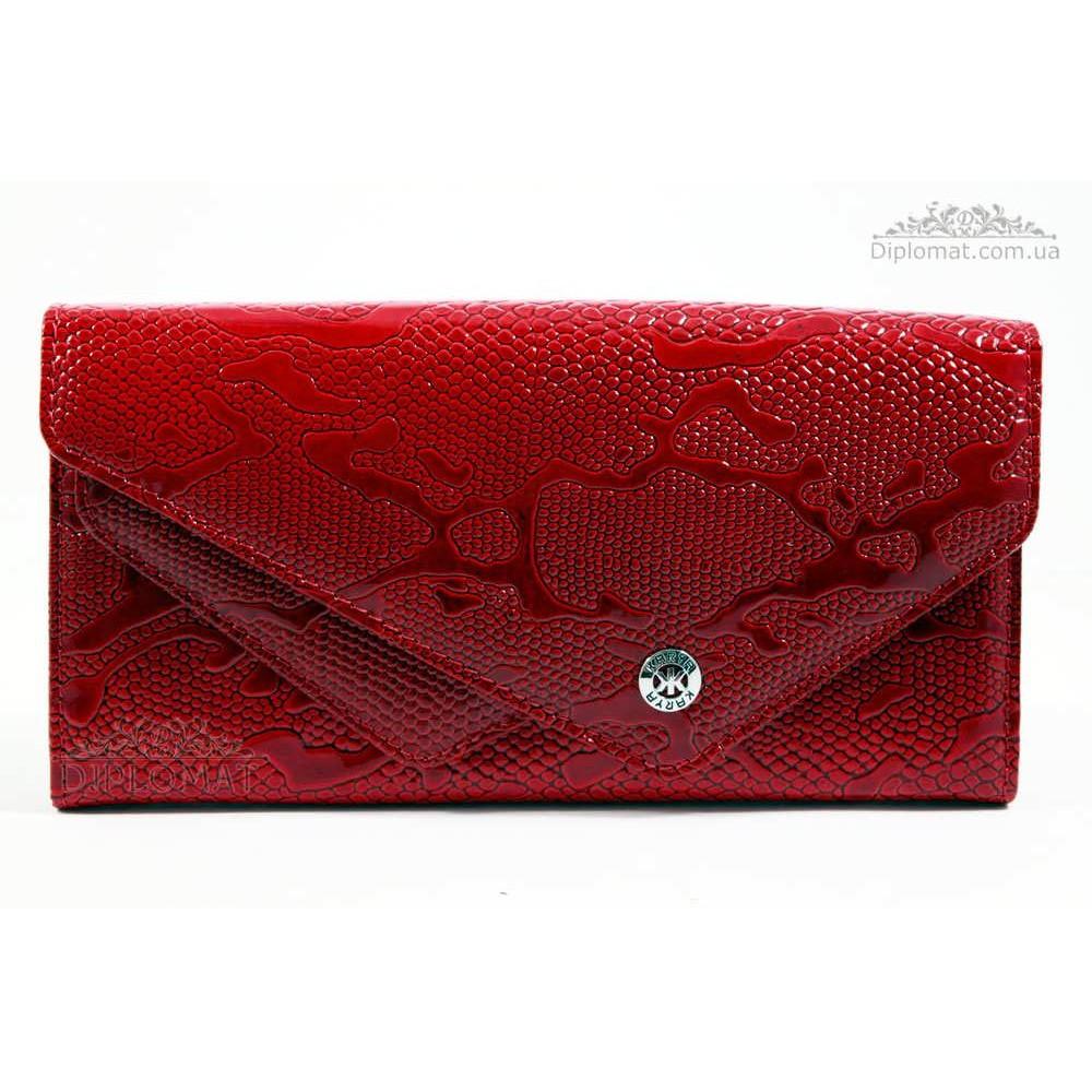 Кошелек женский KARYA 1115 019 Красный Лак
