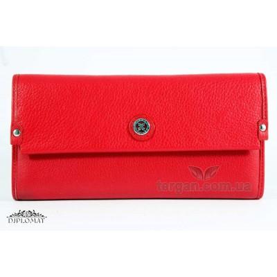 Кошелек женский кожаный TERGAN 5765 KIRMIZI ARSEL Красный