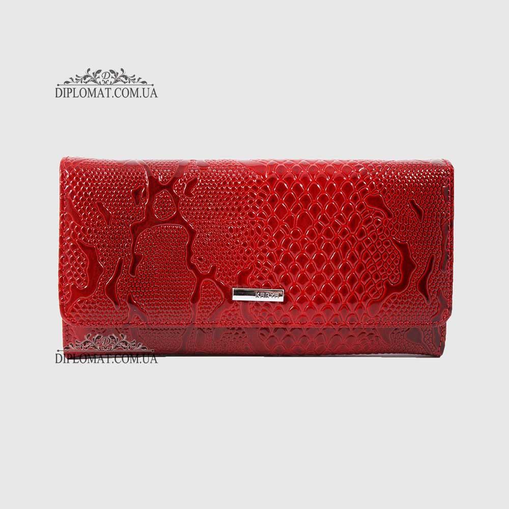 Кошелек женский KARYA 1094 019 Красный Лак