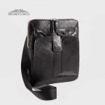 Сумка мужская TONY BELLUCCI T-5058 Кожаная Через плечо Небольшого размера  893 Черный