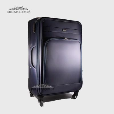 Чемодан текстильный на колесах GUARD YS-04-15075 D.BLUE/Т.СинийБольшой 21*50*33 cm 4,24 кг