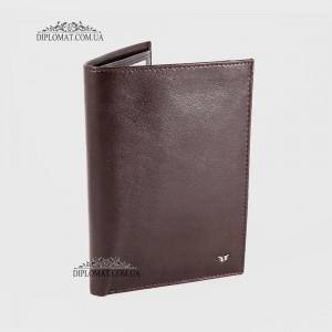Портмоне мужское Вертикальное для автодокументов и паспорта TERGAN 1219  KAHVE RUSTIC Коричневый