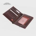 Портмоне мужское TERGAN 1219 для автодокументов и паспорта вертикальное  KAHVE RUSTIC Коричневый