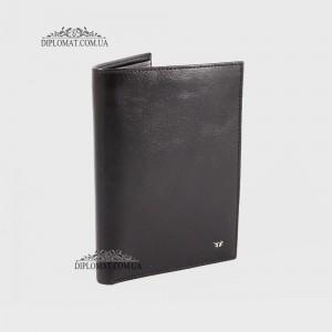 Портмоне мужское Вертикальное для автодокументов и паспорта TERGAN 1219  SIYAH RUSTIC Черный