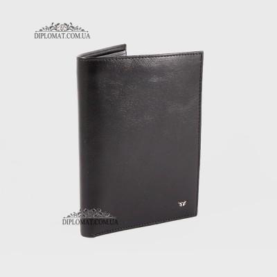 Портмоне мужское TERGAN 1219 для автодокументов и паспорта вертикальное SIYAH RUSTIC Черный
