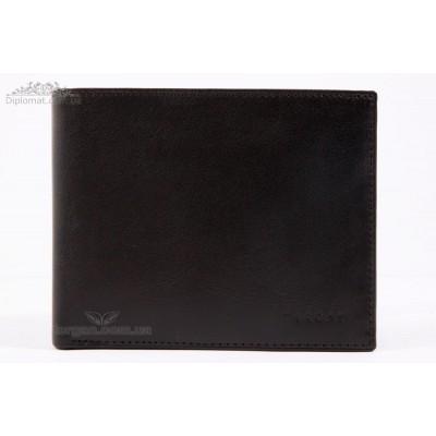 Портмоне мужское TERGAN 1464 для карточек и денег из натуральной кожи SIYAH