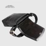 Сумка мужская TONY BELLUCCI T-5044 893 Черный Кожаная Через плечо Среднего размера