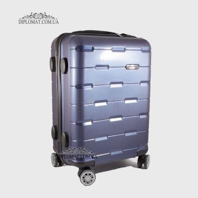 Чемодан поликарбонат на колесах GUARD 010603 Laсk INDIGO / СинийМаленький 21*50*33 cm 2,47 кг