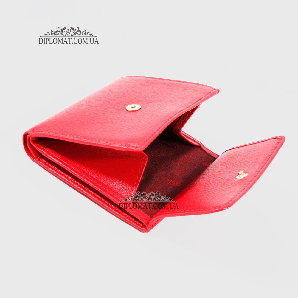 Портмоне женское Кожаное мини TERGAN 5627   KIRMIZI ARSEL Красный