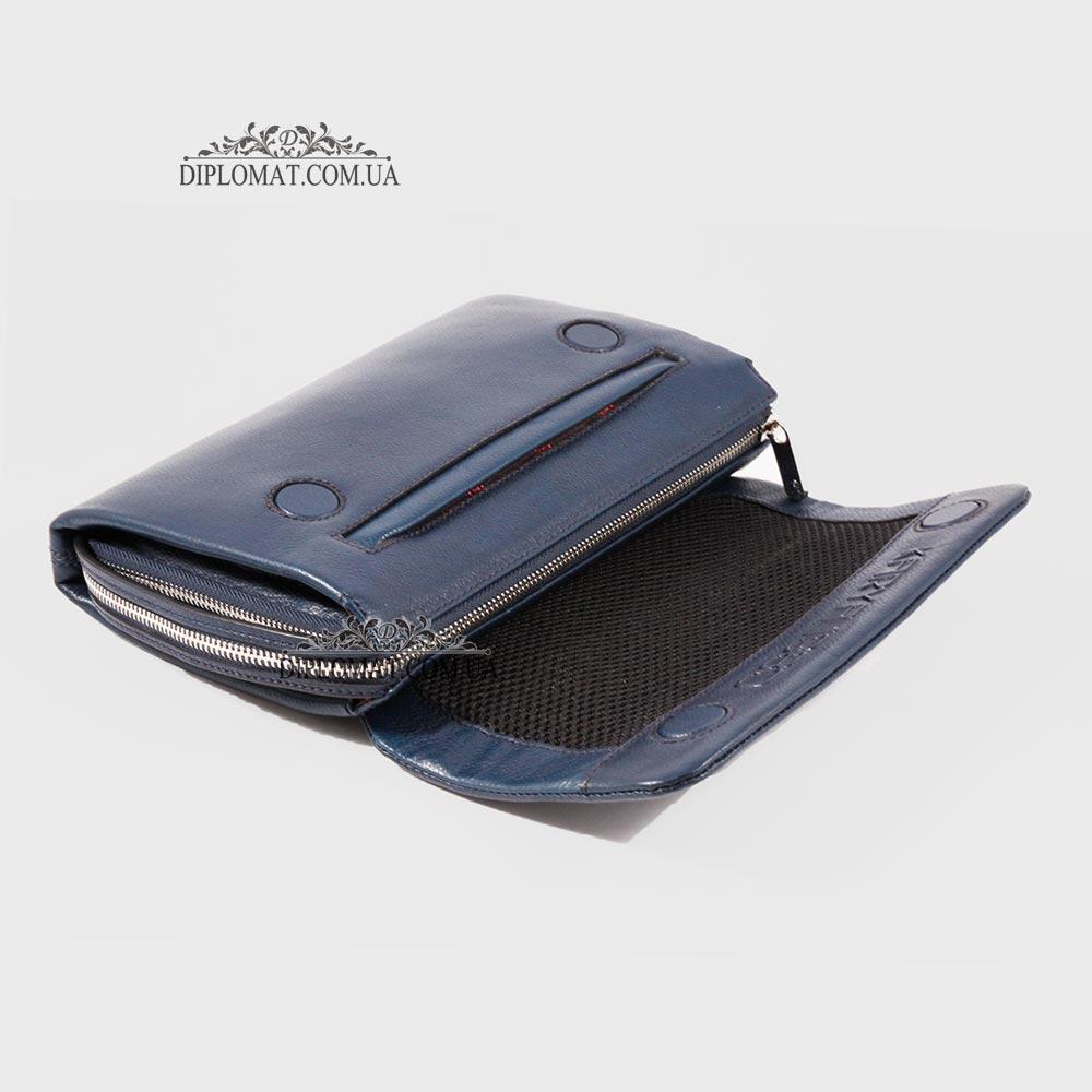 Клатч мужской кожаный с ручкой сбоку KARYA 0361  44
