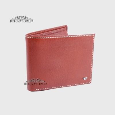 3a745be03592 Мужское портмоне из натуральной кожи для денег и карточек TERGAN 1254 06  TABA VEGETAL;