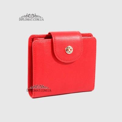 51c6c403db33 Портмоне женское TERGAN 5674 Кожаное на кнопке KIRMIZI ARSEL Красный