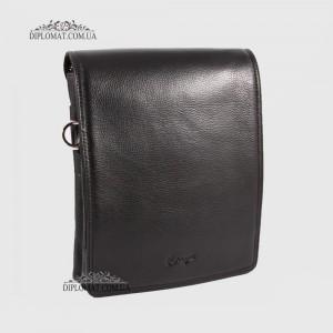 Сумка планшет мужская из натуральной кожи KARYA 0366 45 Черный