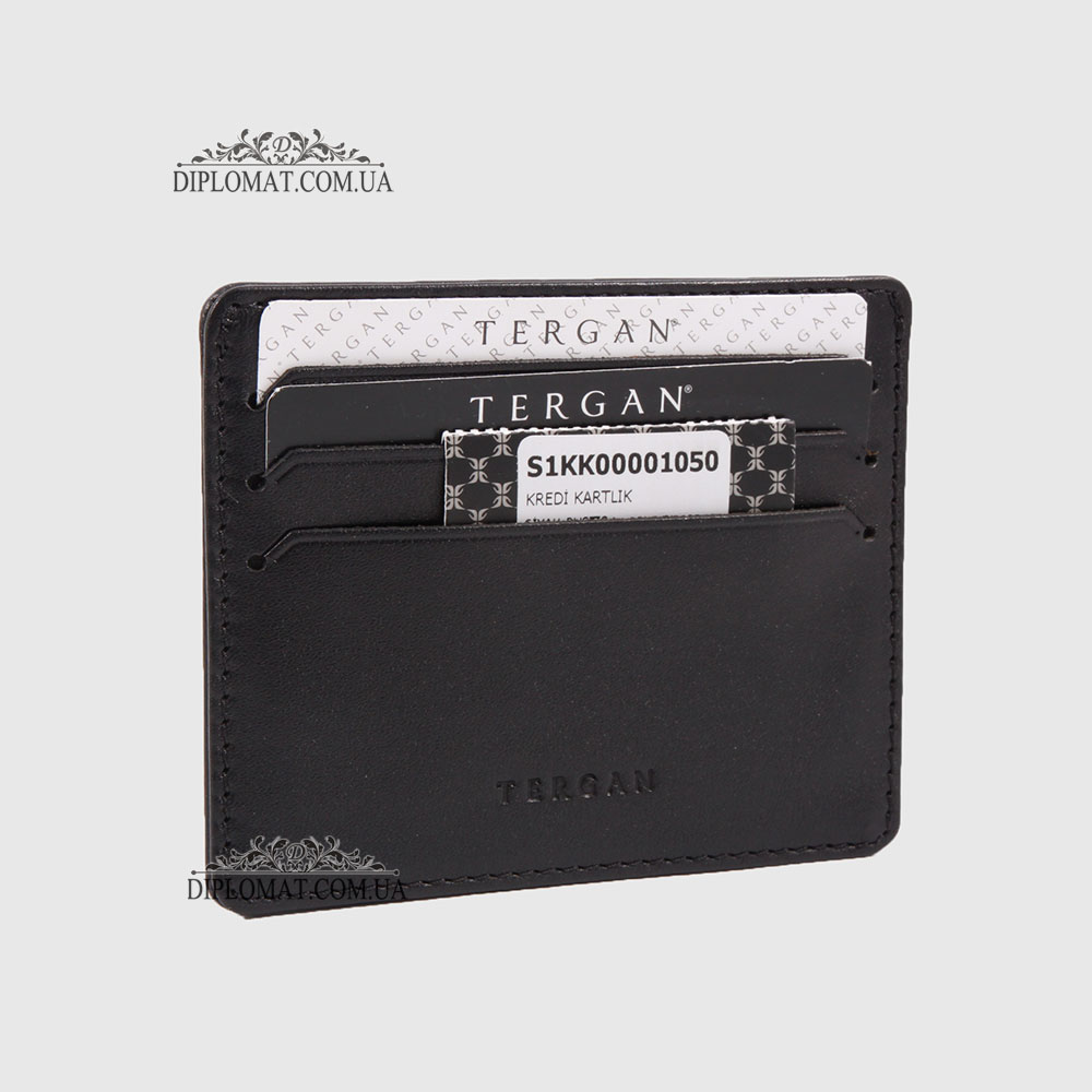 Кожаный Картхолдер Кредитница TERGAN 1050  SIYAH RUSTIC