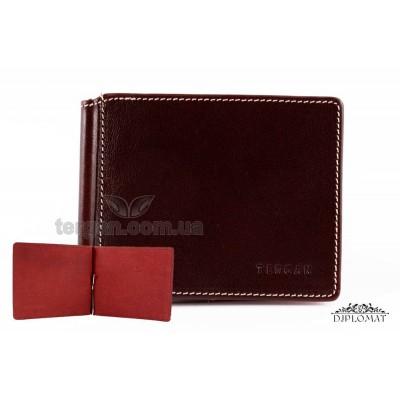 Зажим для денег из натуральной кожи TERGAN 1507 KAHVE VEGETAL Коричневый