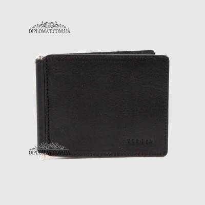 Зажим для денег из натуральной кожи TERGAN 1507 SIYAH VEGETAL Черный