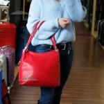 Сумка Женская Кожаная на плечо GUARD 586  KIRMIZI FLOATER Красный/Розовый