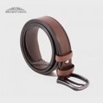 Ремень RINO 6711145222281 универсальный кожаный Коричневый STD