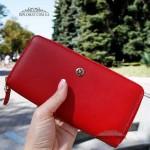 Кошелек на молнии TERGAN 5777 кожаный KIRMIZI ARSEL Красный