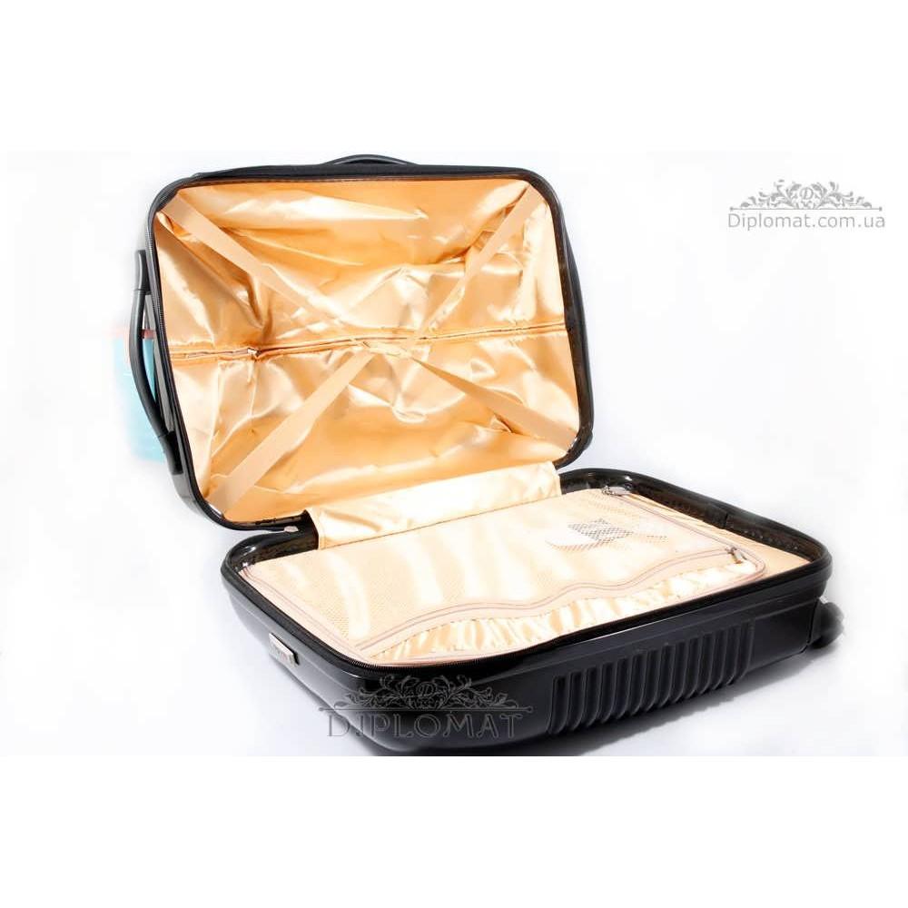 Чемодан дорожный KARYA Suitcase BIG PLASTIC BLACK