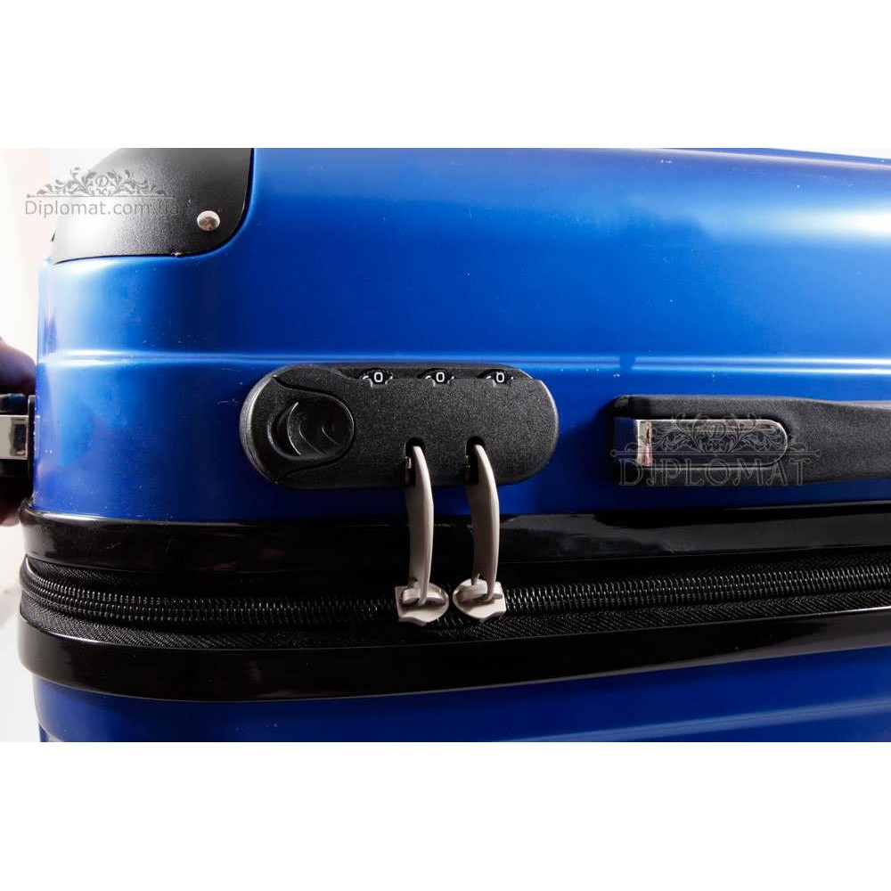 Чемодан дорожный KARYA Suitcase BIG PLASTIC BLUE