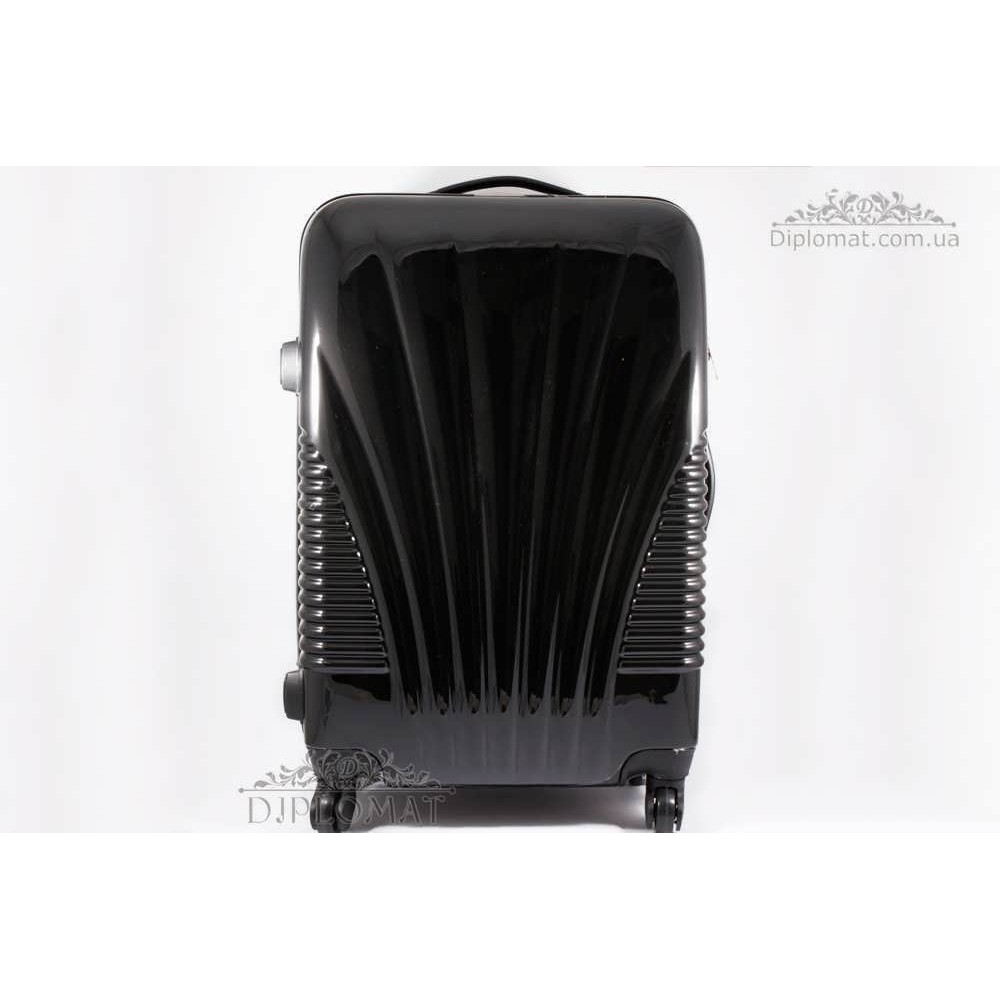 Чемодан дорожный KARYA Suitcase MIDLE PLASTIC BLACK