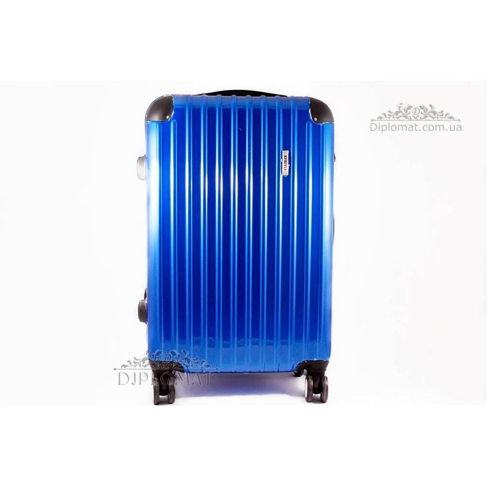 Чемодан дорожный KARYA Suitcase MIDLE PLASTIC BLUE