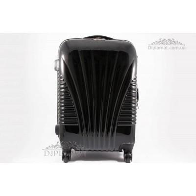 Чемодан дорожный KARYA Suitcase SMALL Polycarbonate lack BLACK