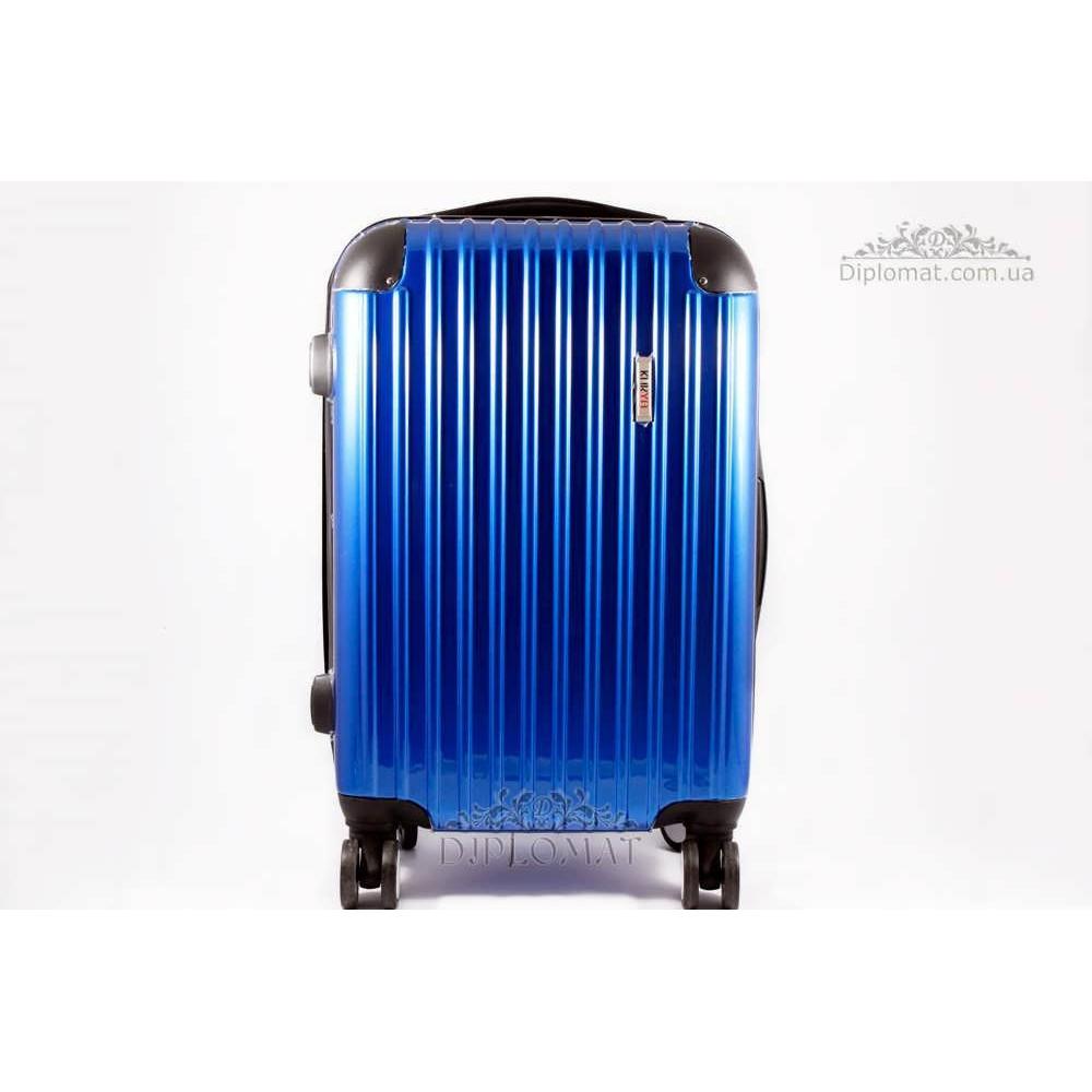 Чемодан дорожный KARYA Suitcase SMALL PLASTIC BLUE