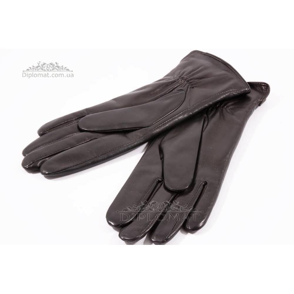 Перчатки женские HARMON 2096 ПП ЧерныйSMOOTH SKIN size 6,5