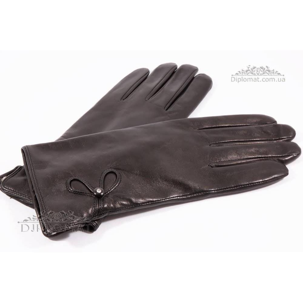 Перчатки женские HARMON 2096 ПП ЧерныйSMOOTH SKIN size 8