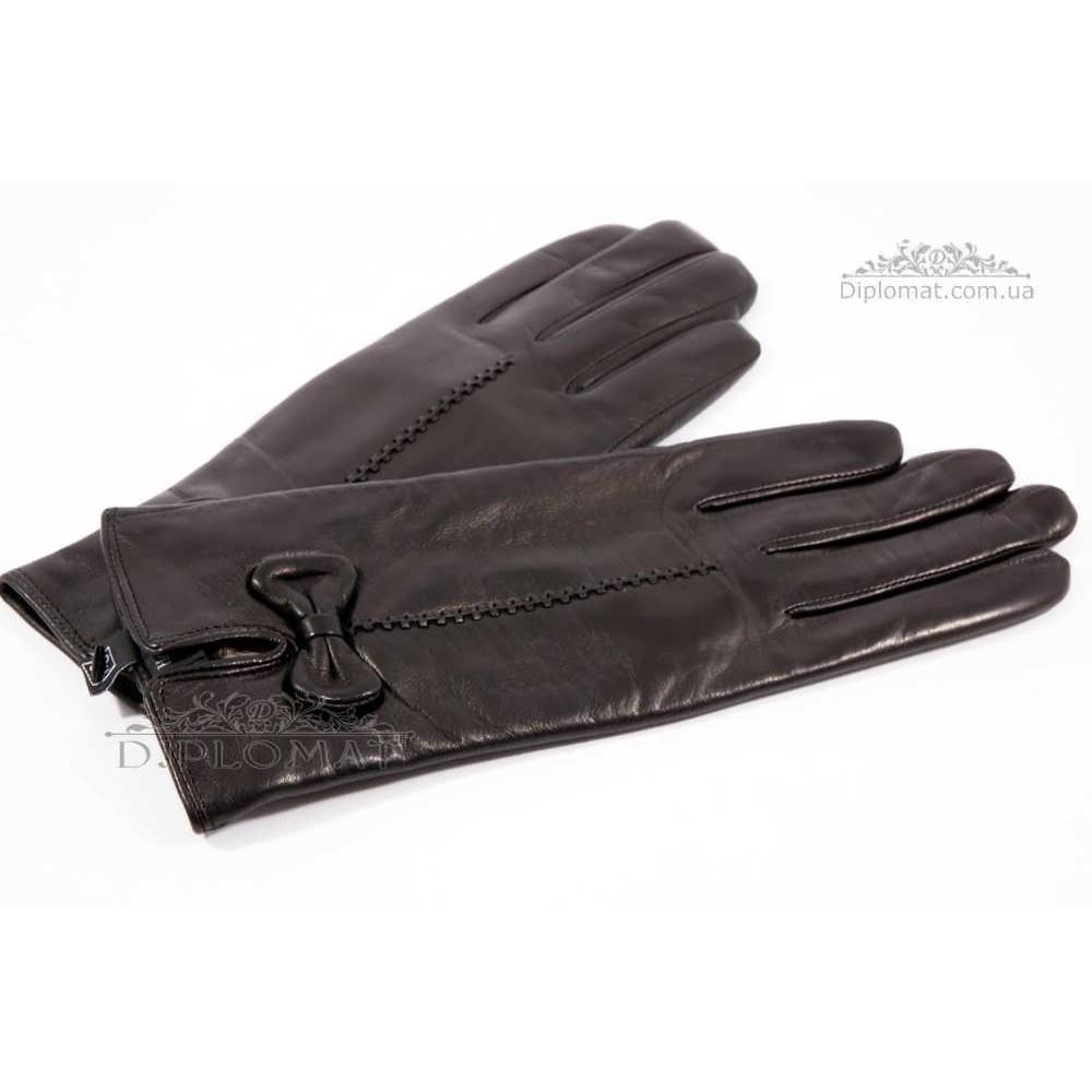 Перчатки женские HARMON 2097C ПП ЧерныйSMOOTH SKIN size 6,5