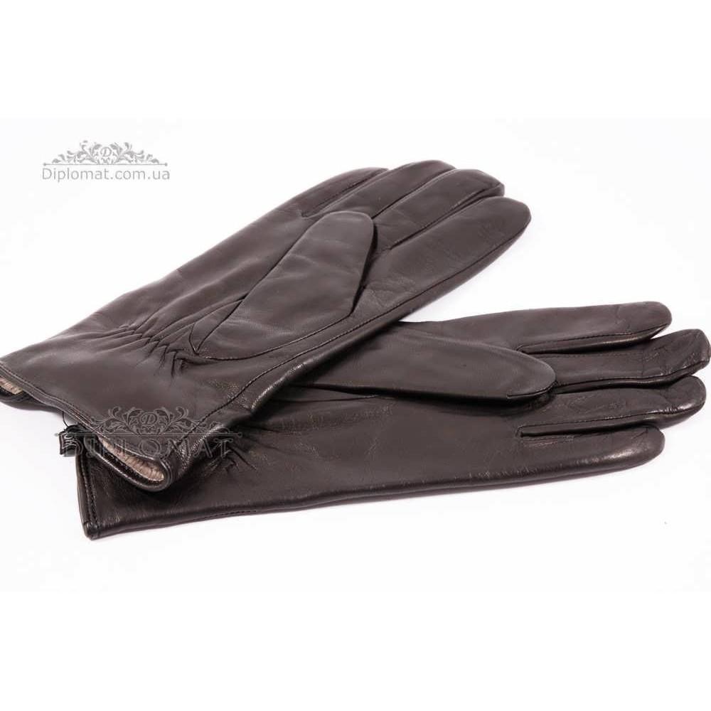 Перчатки женские HARMON 2097C ПП ЧерныйSMOOTH SKIN size 8,5