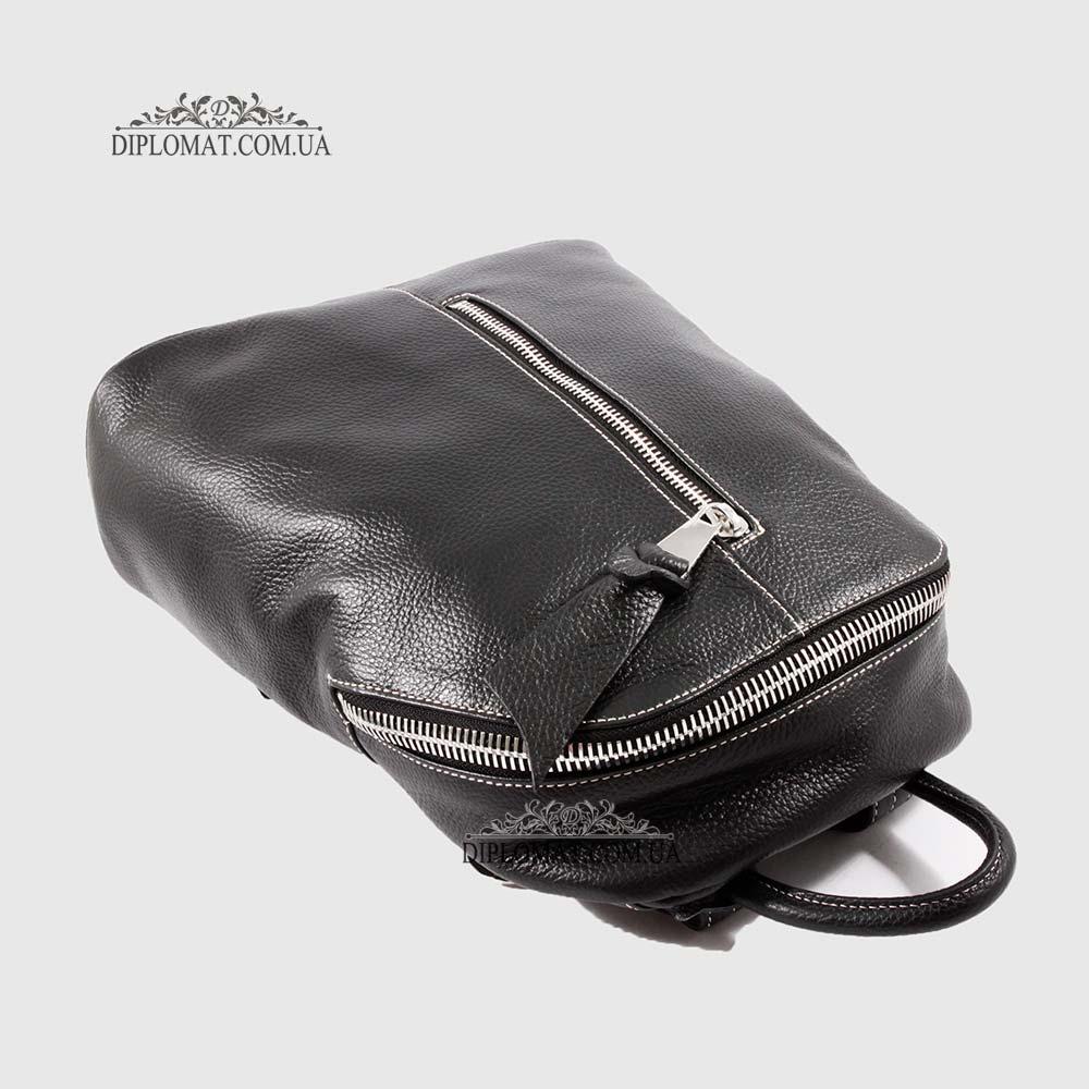 77228952888e ... Рюкзак женский кожаный BELLINI Saltino 1568 DARK BROWN floater  Коричневый ...