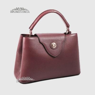 Купить женскую кожаную сумку Украина Киев Запорожье (Верхняя Ручка ... c0d25a3cc38
