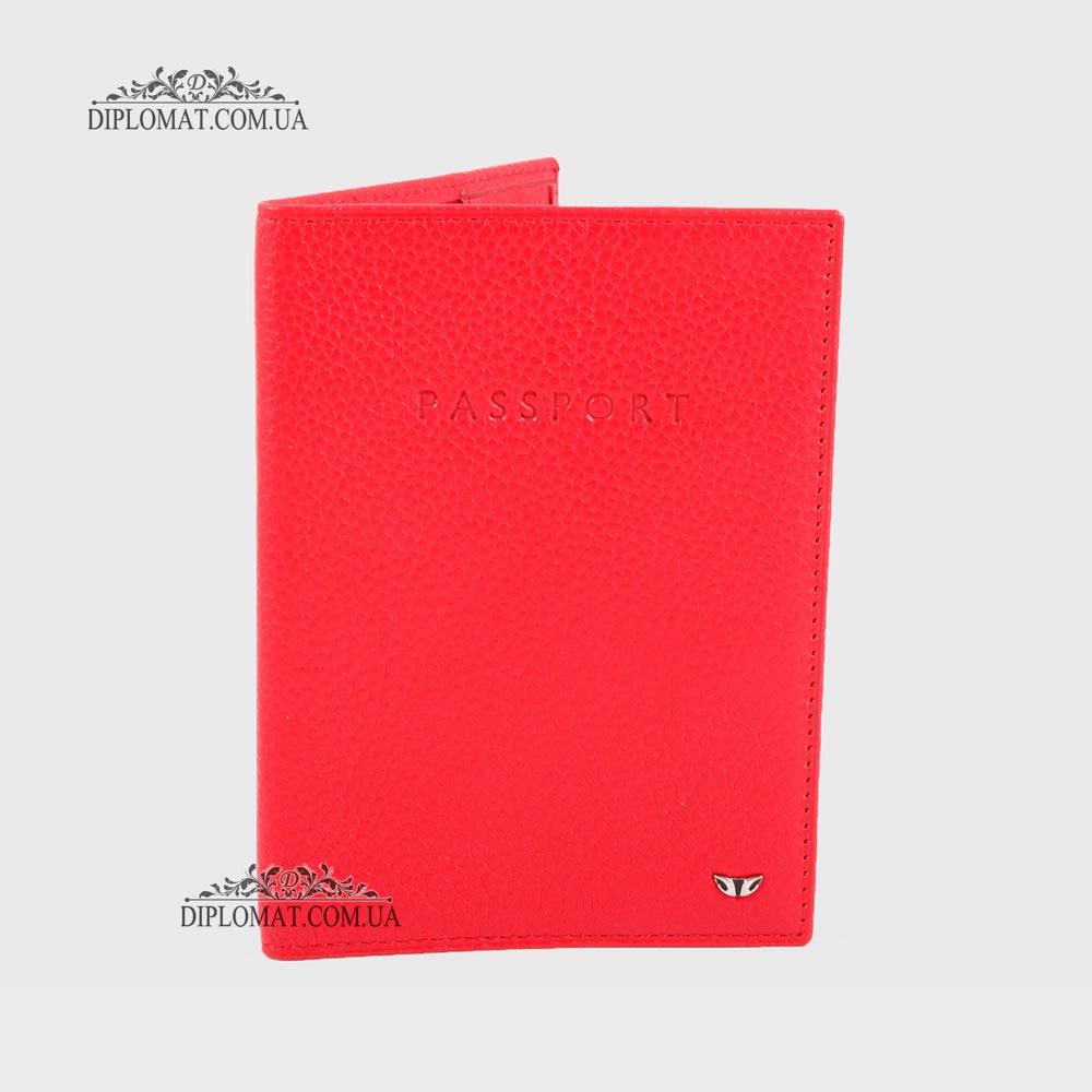 Обложка для паспорта TERGAN 1200 KIRMIZI LATIGO