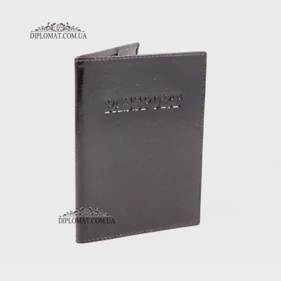 Обложка для паспорта TERGAN 1200 кожанаятСнЛак