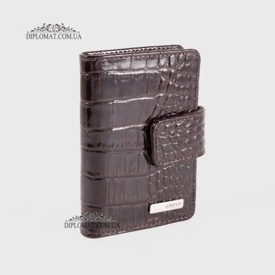 Визитницы кожаные для дисконтных карт KARYA 0014 016