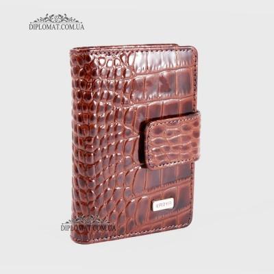 Визитницы кожаные для дисконтных карт KARYA 0014 018